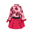 House of Little Jay | Red Blouse and Skirt