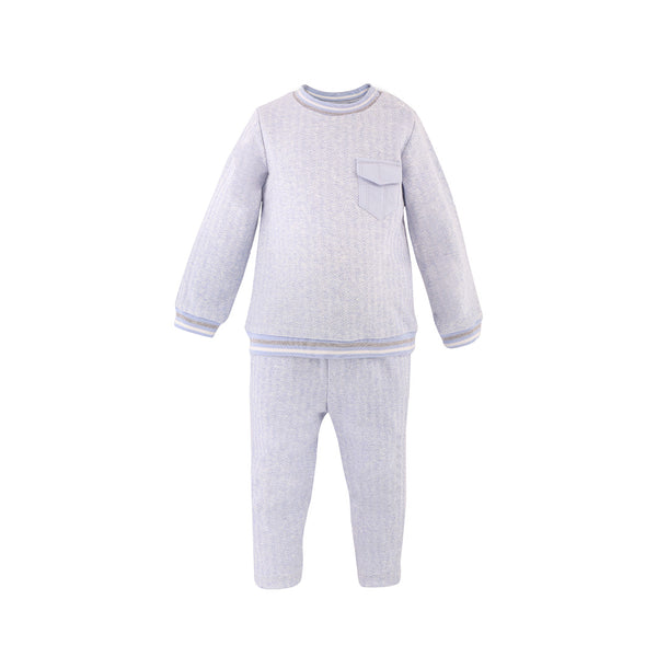 House of Little Jay | Pale Blue Sweatshirt and Jogging Pants