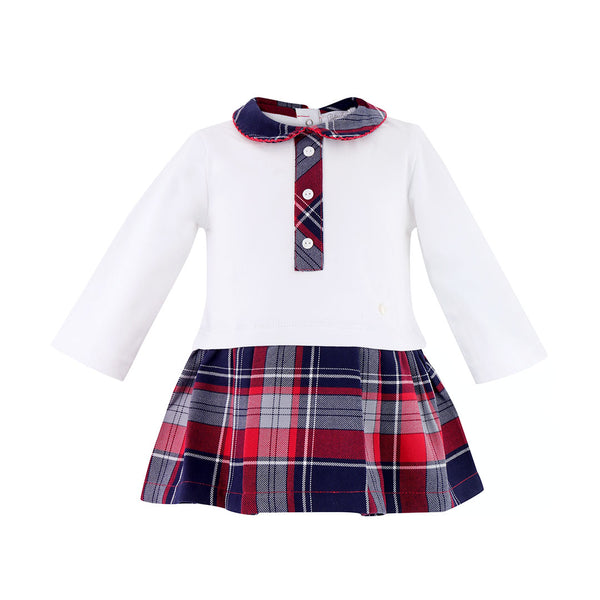 House of Little Jay | Tartan Dress