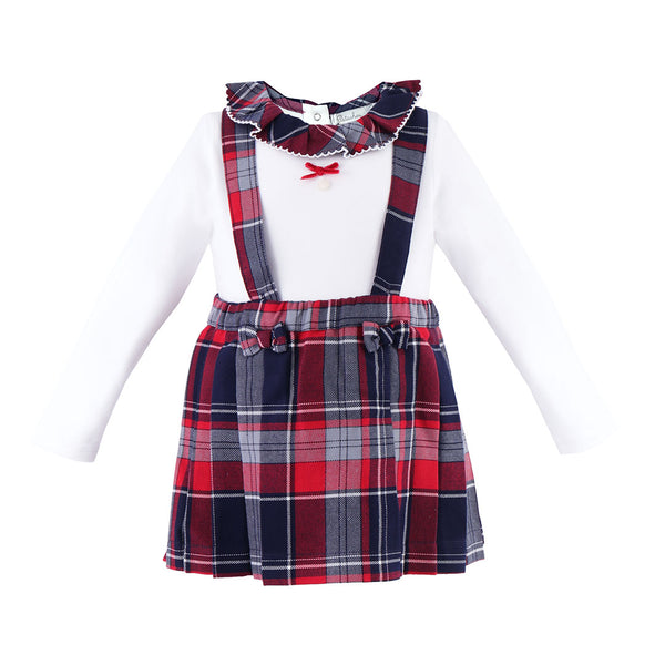 House of Little Jay | Tartan Onesie & Skirt