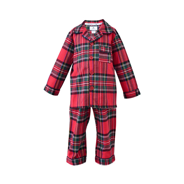 House of Little Jay | Imperial Tartan Pajama Set Plaid