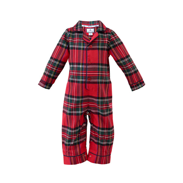 House of Little Jay | Imperial Tartan Romper Plaid