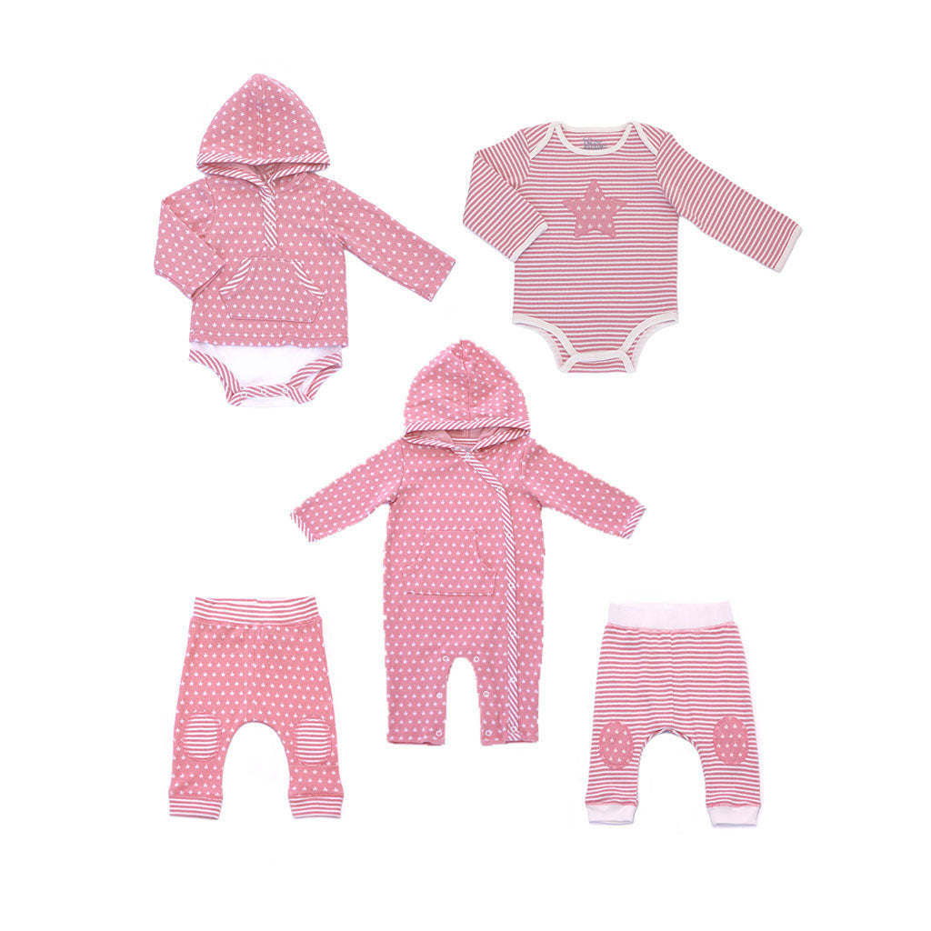 House of Little Jay | Pink Stars Set