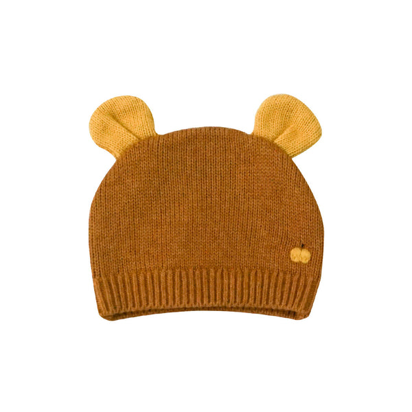 House of Little Jay | Baby Knitted Hat with Ears - Ginger