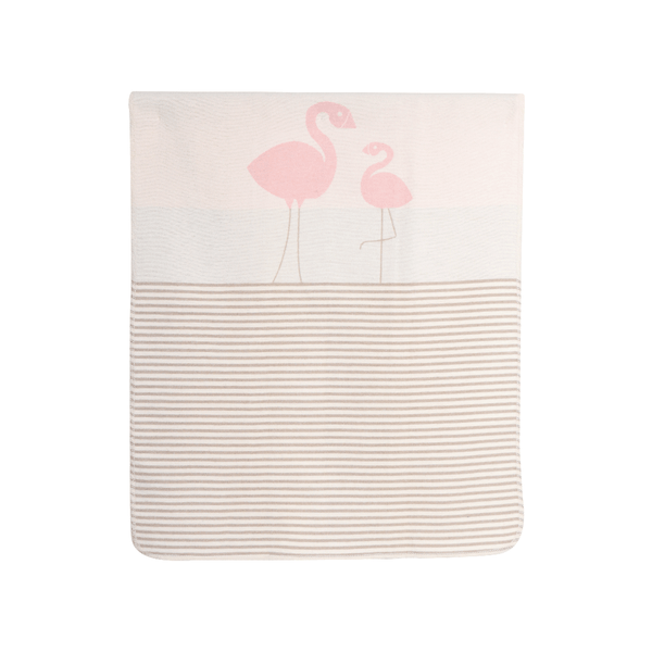 House of Little Jay | Flamingo Kids Blanket