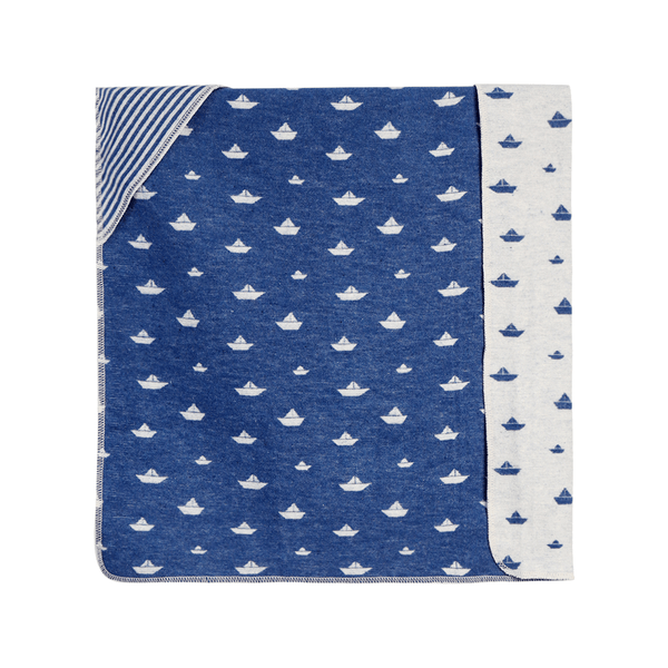 House of Little Jay | Sailboat Hooded Blanket