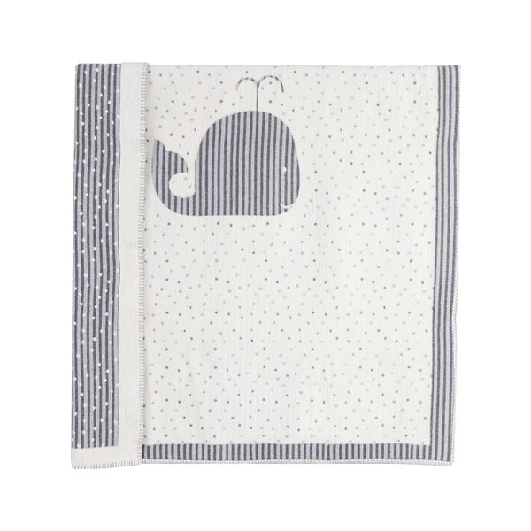 House of Little Jay | Whale Baby Blanket