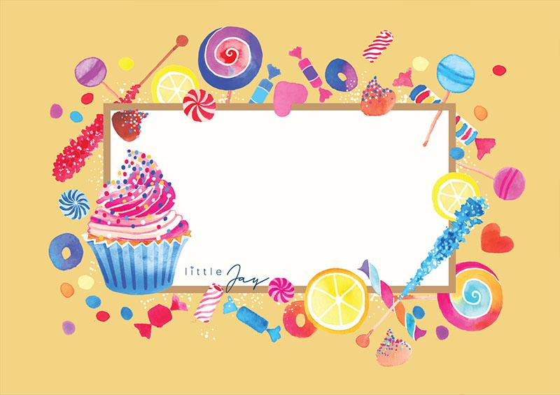 House of Little Jay | Cupcake Greeting Card