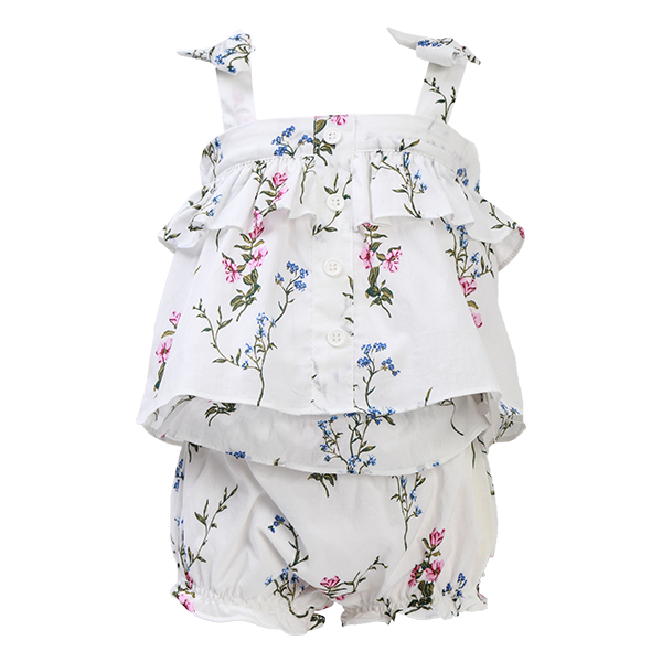 House of Little Jay | Flower Patch Tank and Bloomer Set