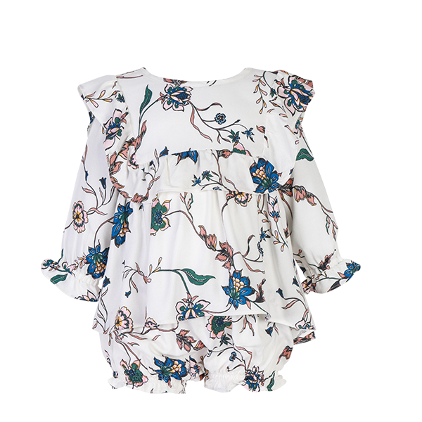 House of Little Jay | Bib Floral Dress