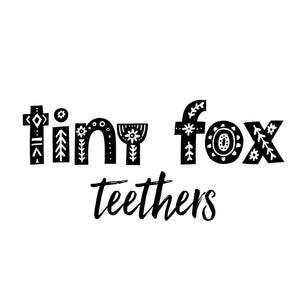 Tiny Fox Teethers