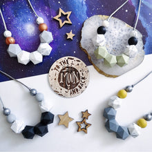 Load image into Gallery viewer, Zora: Celestial teething necklace