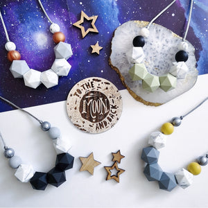 Zora: Celestial teething necklace