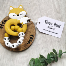 Load image into Gallery viewer, Personalised Fox Teether