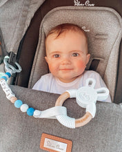 Load image into Gallery viewer, Personalised pram teether clip