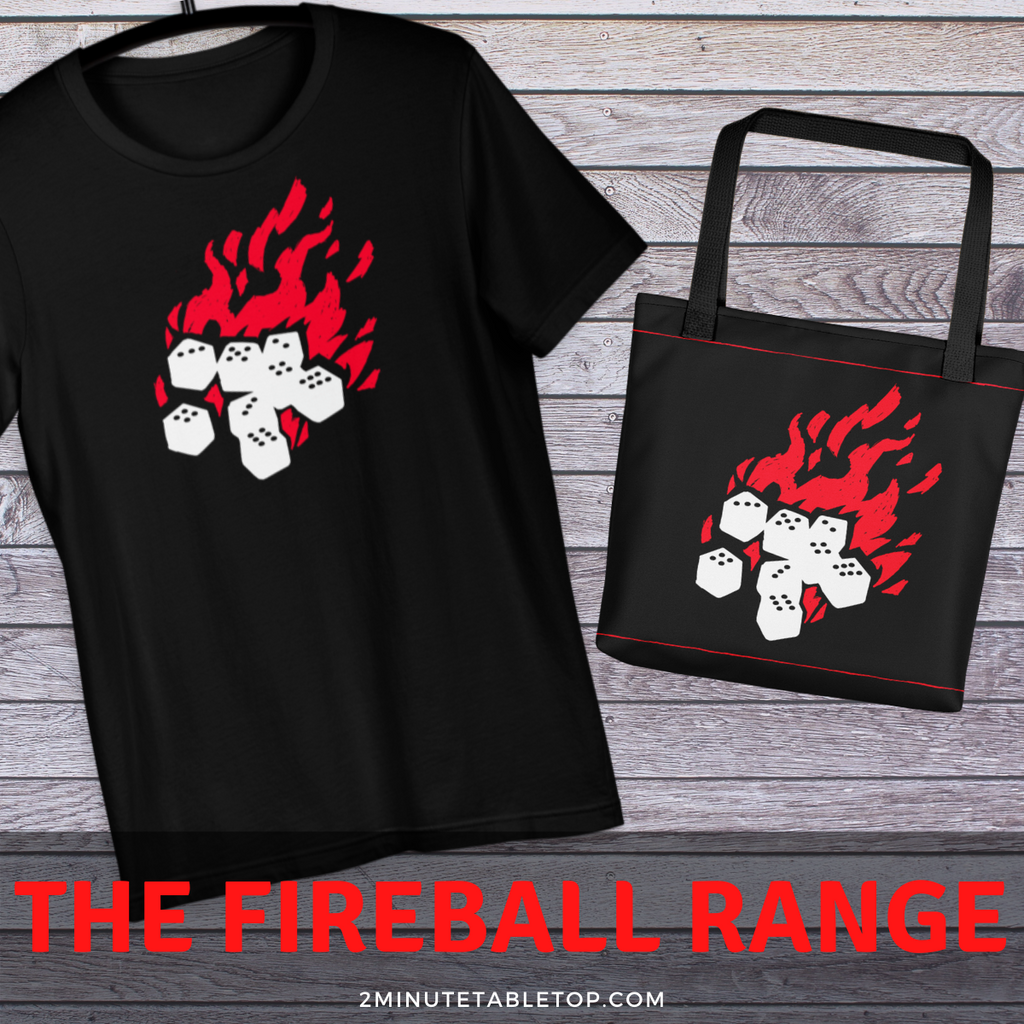 The Fireball Range For Dungeons And Dragons Players
