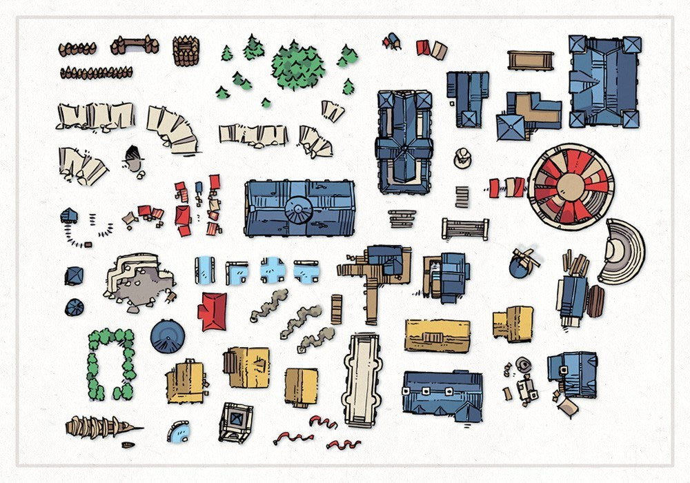Wonderdraft Town & City Map Assets
