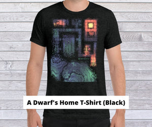 A Dwarf's Home T-Shirt or the Hero Tokens All-Over Print T-Shirt?