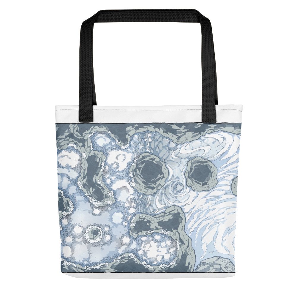 Yeti Lair Tote Bag for D&D, Pathfinder players