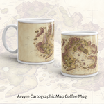 Arvyre Cartographic Map Coffee Mug