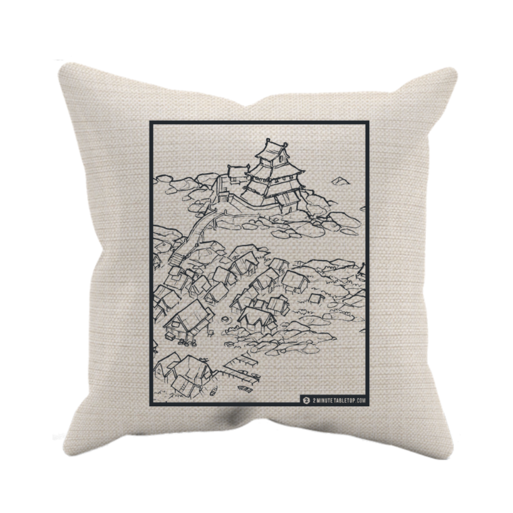 Castle Town Pillow