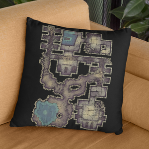 Forgotten Crypt Pillow Case