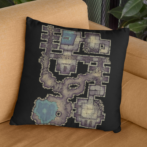 Forgotten Crypt Pillowcase for D&D players