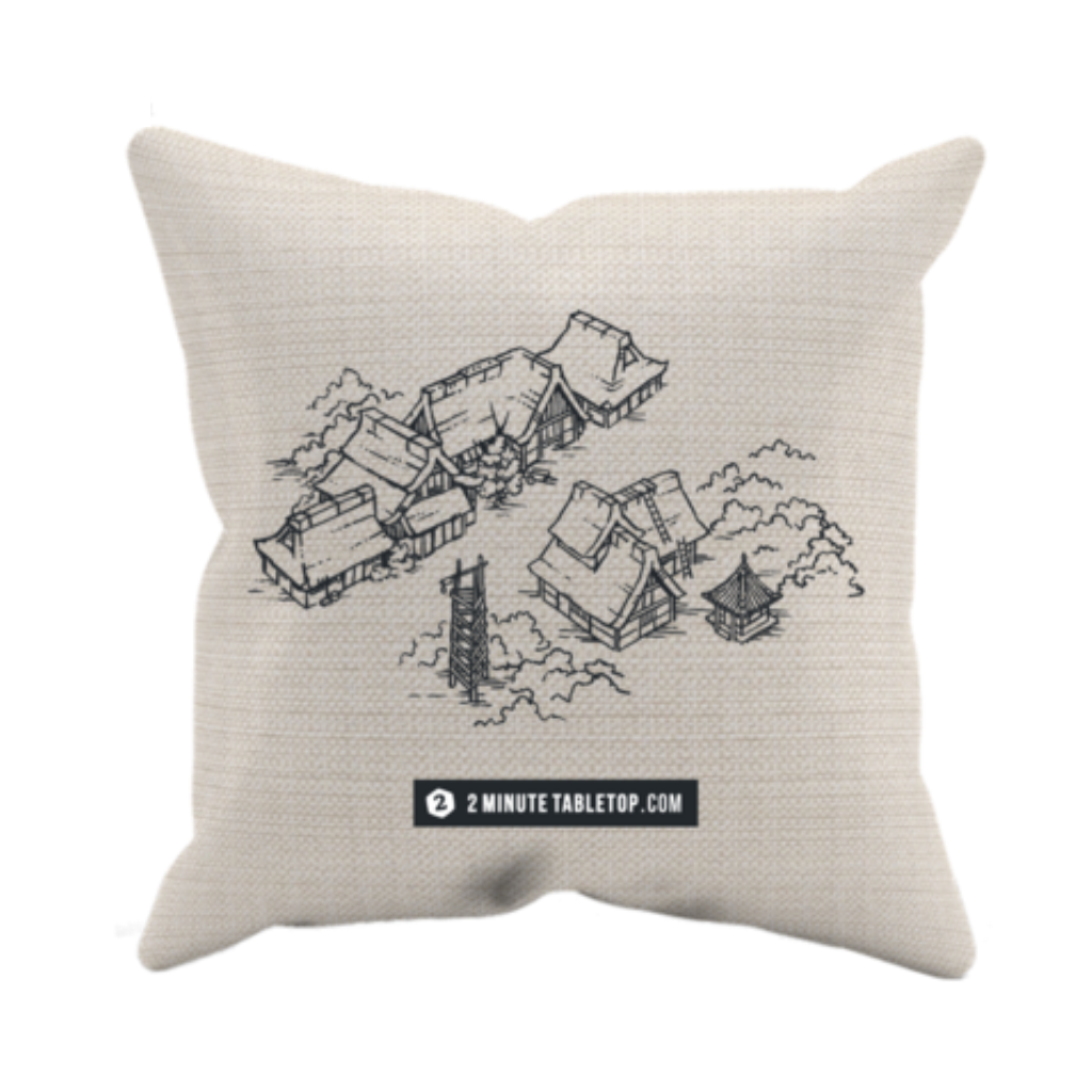 Japanese Village Pillow