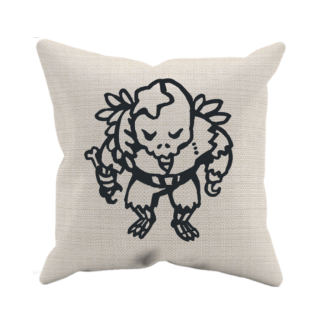 Pirate Skeleton Pillow