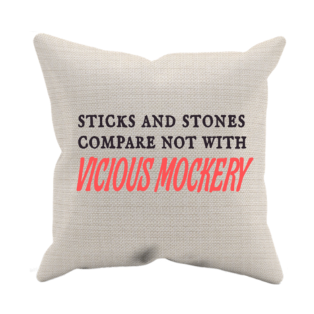 Sticks And Stones Pillow Case & Insert