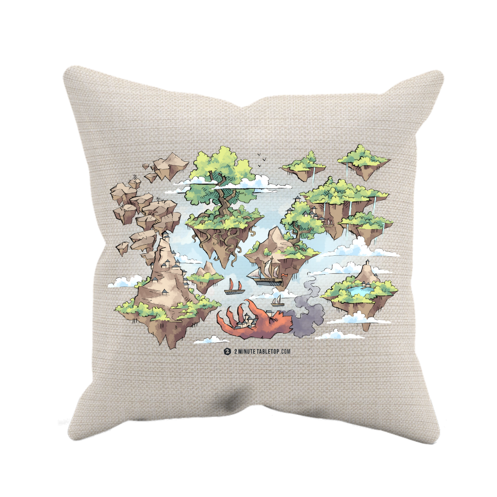Windy Realms Pillow Case (no insert)