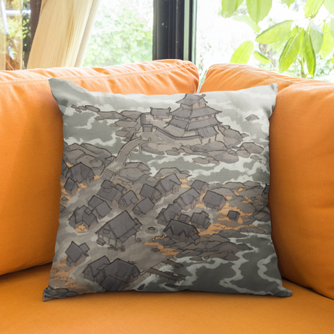 Castle Town Pillowcase