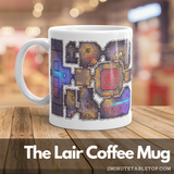 Lair Coffee Mug for Role-Playing Game players or fans