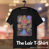 Lair Unisex Premium T-Shirt (Black) for Role-Playing Game players or fans