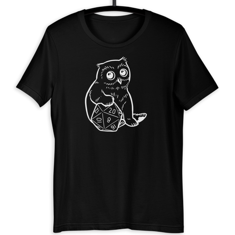 Baby Owlcub D&D Player T-Shirt