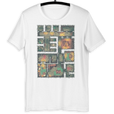 The Dungeon T-Shirt (White) for Dungeons and Dragons Players