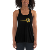 Guiding Bolt Women's Flowy Racerback Tank For D&D Player