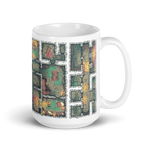 Dungeon Coffee Mug for RPG Tabletop players