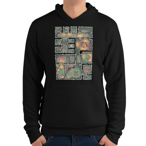 The Dungeon Hoodie for RPG Tabletop players