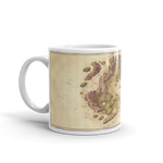 Arvyre Cartographic Map Coffee Mug | RPG Player Gift