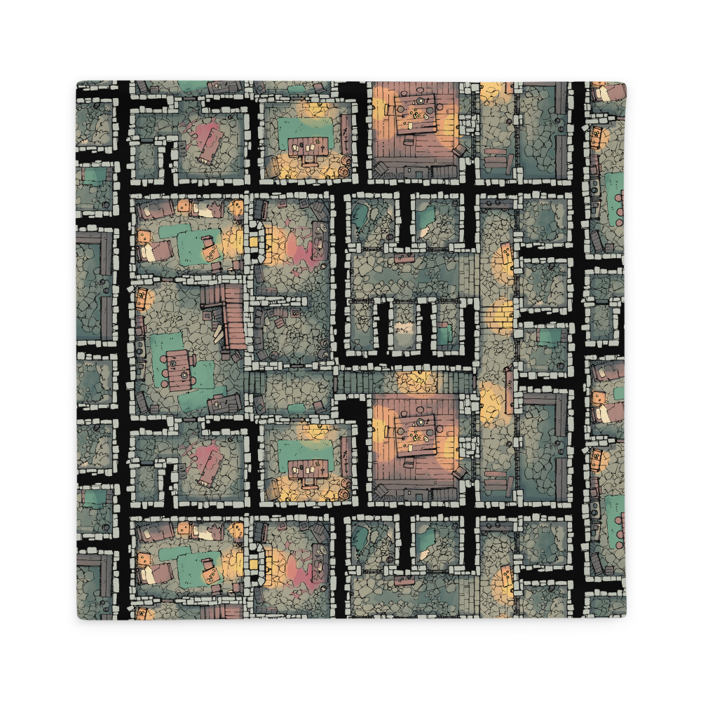 The Dungeon Pillowcase
