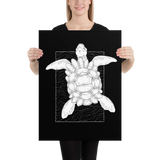 Astral Turtle Poster: Museum-Quality On Thick & Durable Paper