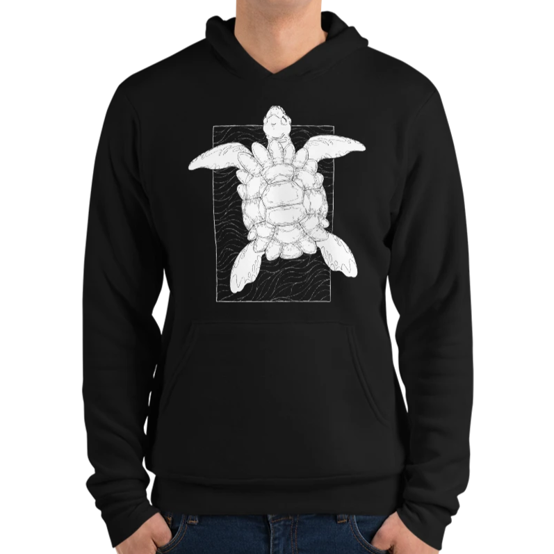 Astral Turtle Hoodie for RPG Tabletop players
