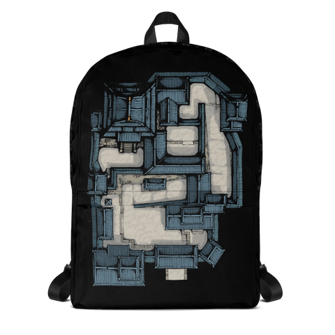Samurai Castle Map Backpack