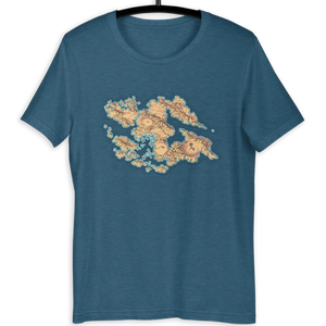 Provinces of Wei T-Shirt (Blue)