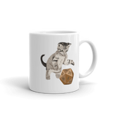 Tabby Cat D&D Player Coffee Mug