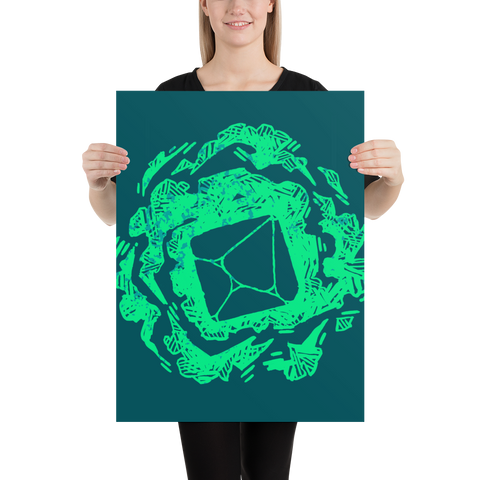 Eldritch Blast Poster: Museum-Quality On Thick & Durable Paper