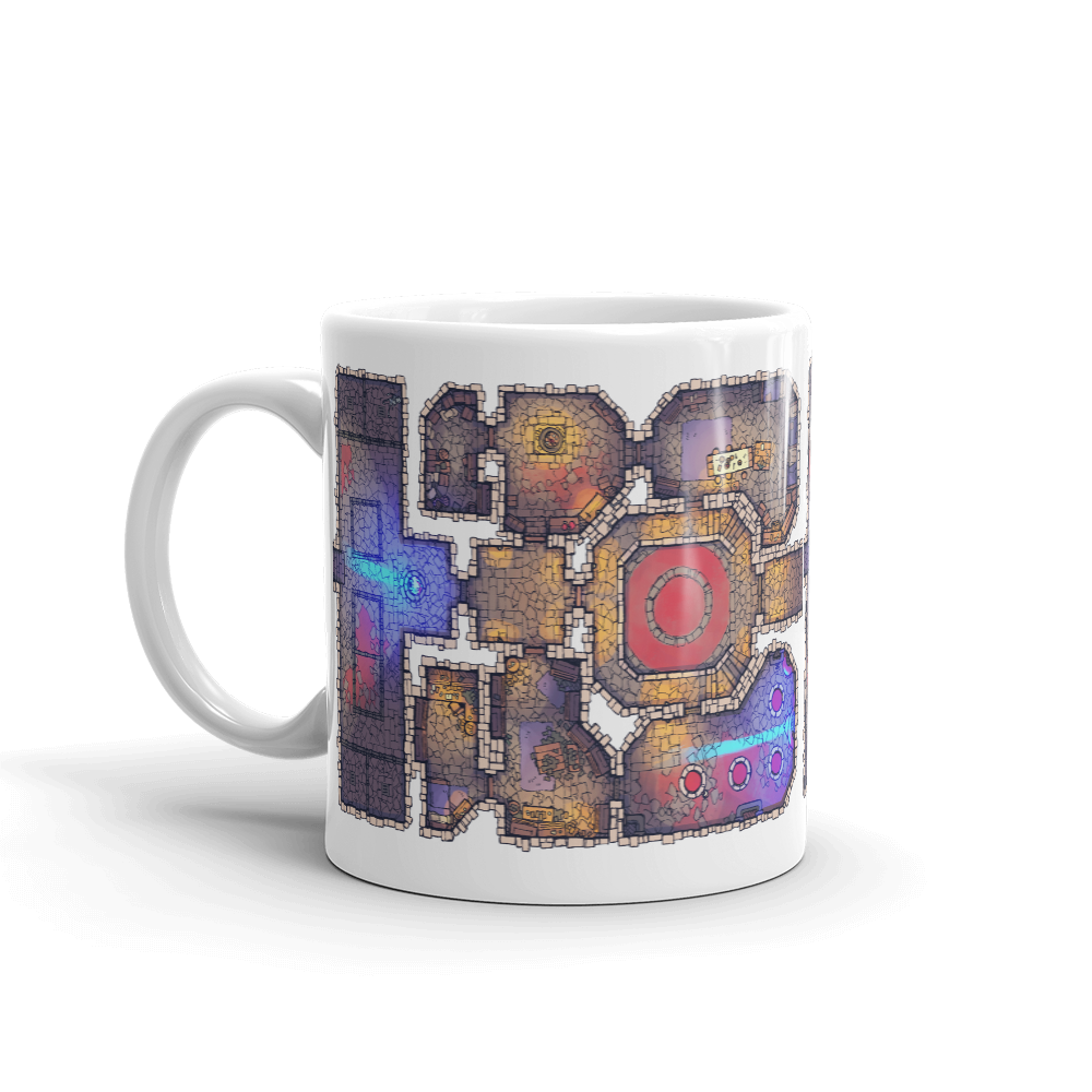 Lair Coffee Mug for RPG Tabletop players