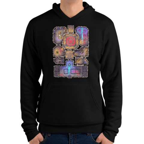 Lair Unisex Pullover Hoodie for RPG Tabletop players