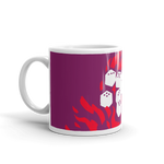 Fireball Coffee Mug for Dungeons and Dragons players